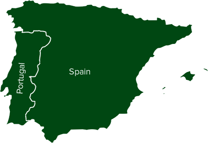 Portugal and Spain