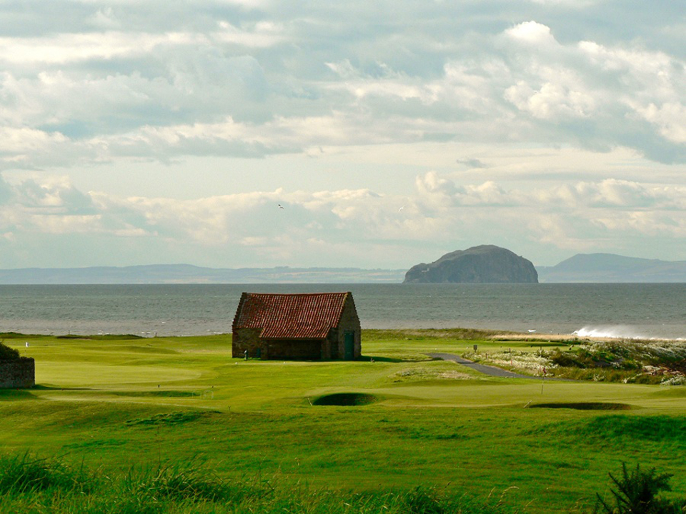 Play Dunbar Golf Course, near Edinburgh, Scotland