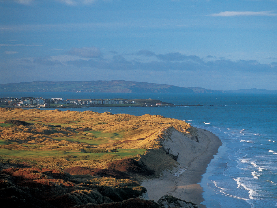 Royal Portrush Dunluce Course Overlooking the Sea