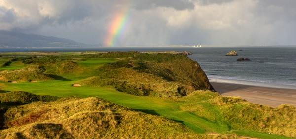 Tralee Golf Course Overlooking the North Atlantic Ocean
