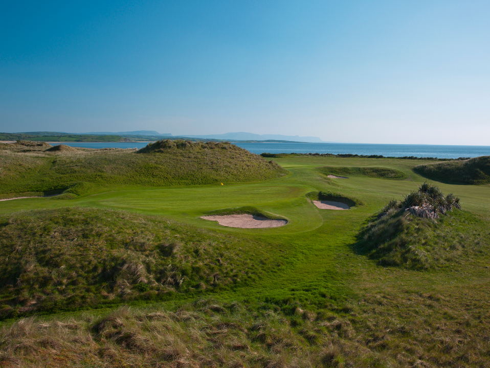 Donegal 10th Hole - Round the Bend