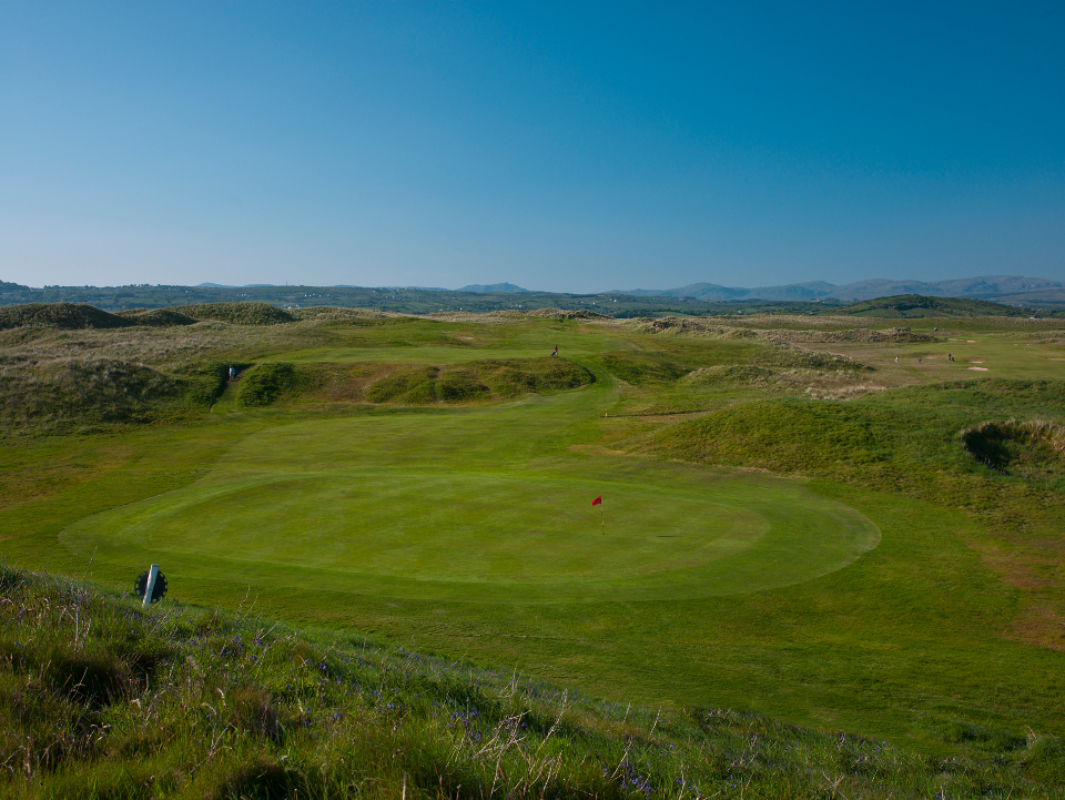 Donegal 7th Hole - Badger's Sett