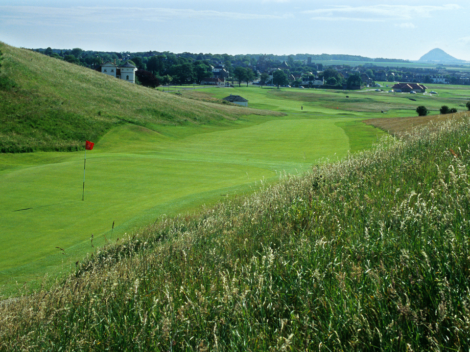 Play Gullane No 1 Course, near Edinburgh, Scotland