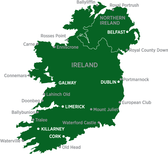 Ireland Golf Courses