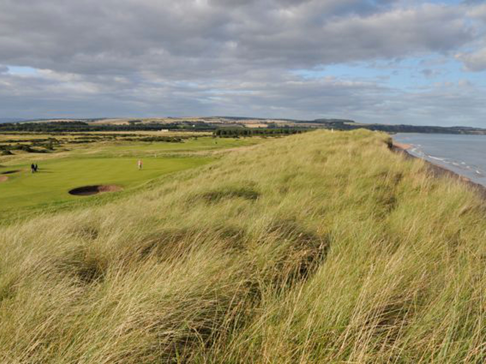Play Montrose Medal Golf Course near Carnoustie, Scotland
