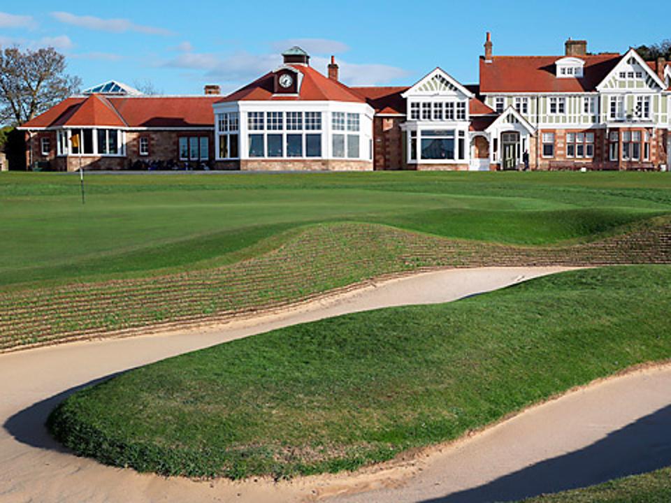 Play Muirfield Golf Course, near Edinburgh, Scotland