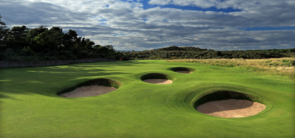 Play Muirfield Golf Course, near Edinburgh, Scotland