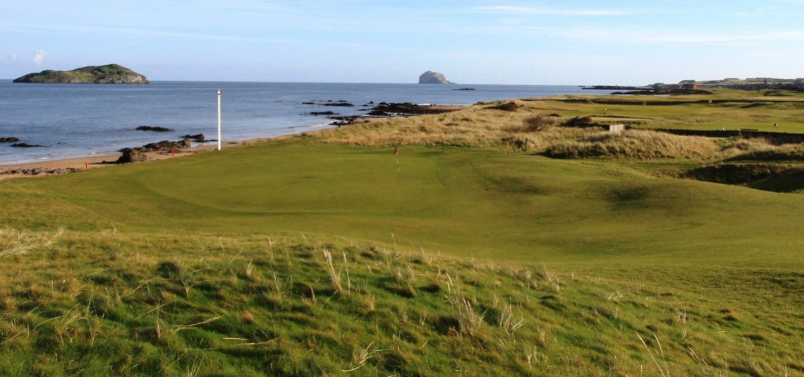 Play North Berwick West Links, near Edinburgh, Scotland