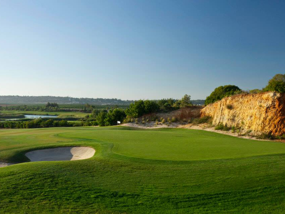Play Oceanico Faldo Course, Amendoeira, The Algarve, Portugal
