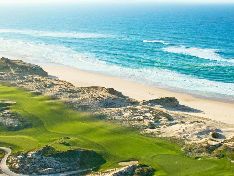 Play Praia d'el Rey Golf Course, near Lisbon, Portugal