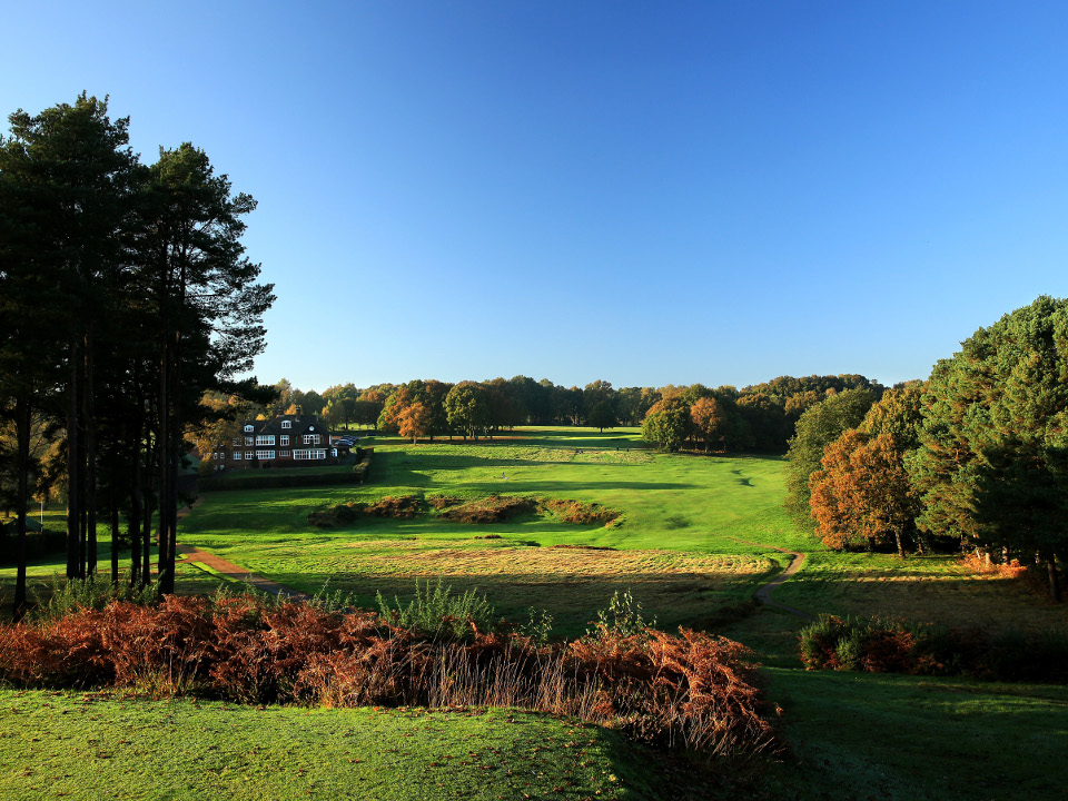 Royal Ashdown Forest Gold Club - Old Course 18th Hole