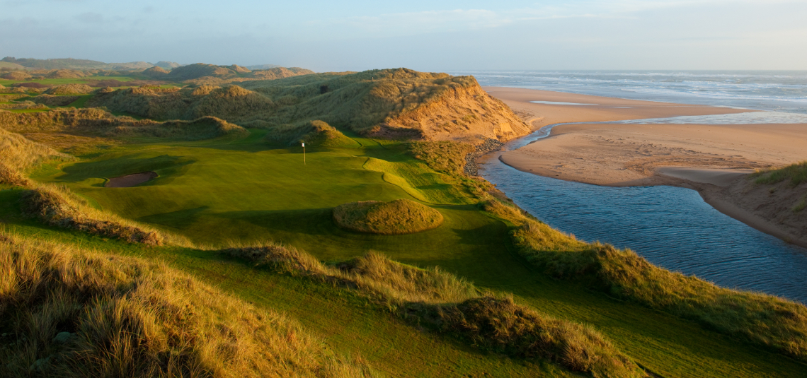 Play Trump International Golf Links, near Aberdeen, Scotland