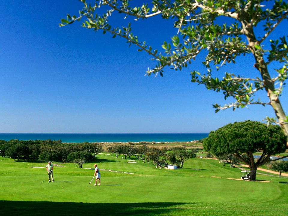 Play Vale do Lobo Ocean Golf Course, The Algarve, Portugal